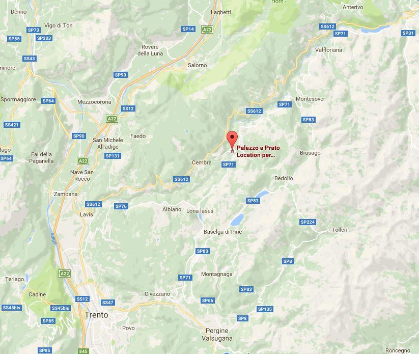 raggiungere Palazzo a Prato